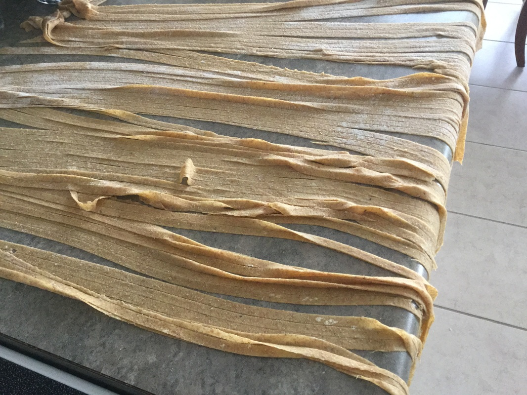 Homemade Pasta with Salted Cod and Walnuts - Keep It Simple, Sandra